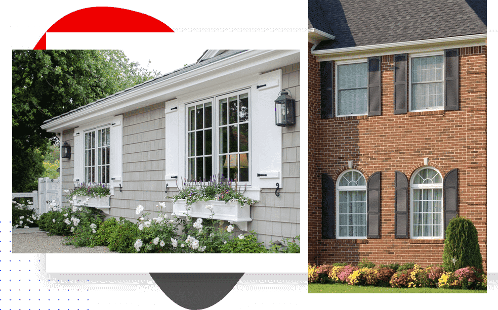 Exterior Window Shutter Replacement Services